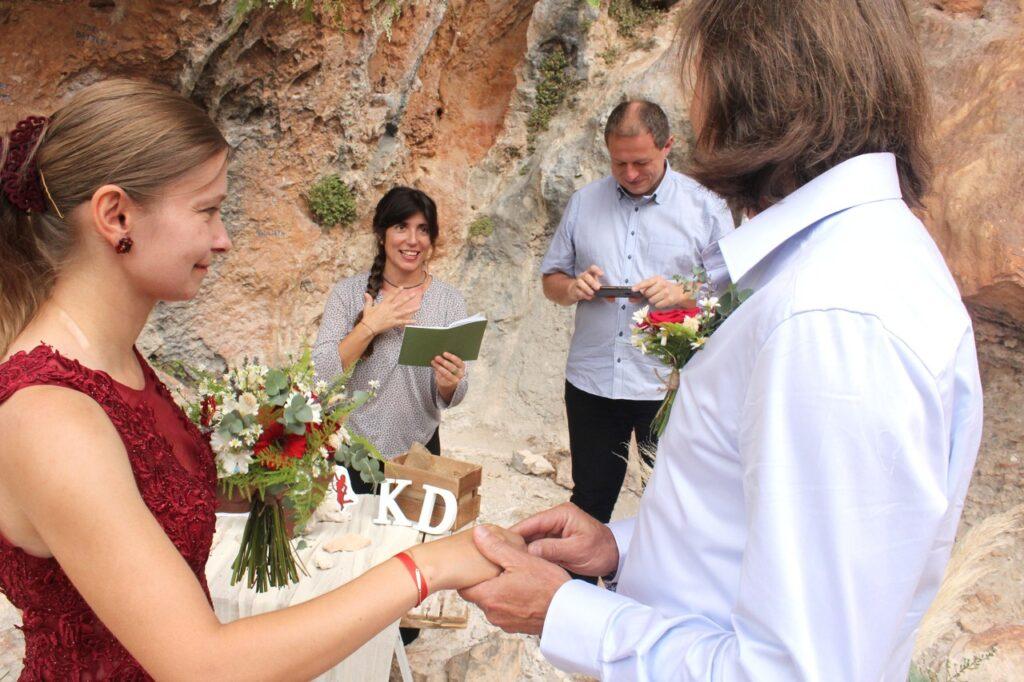 Γάμος στα βράχια του Λεωνιδίου